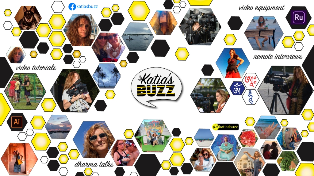 Katia's Buzz TV Video Tutorials & Remote Interviews